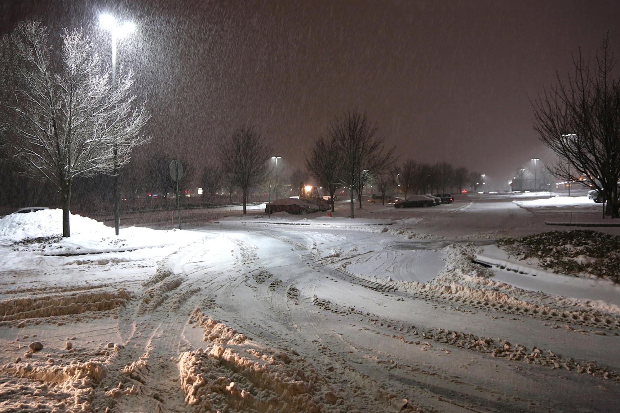 Snowstorm in New Jeresy