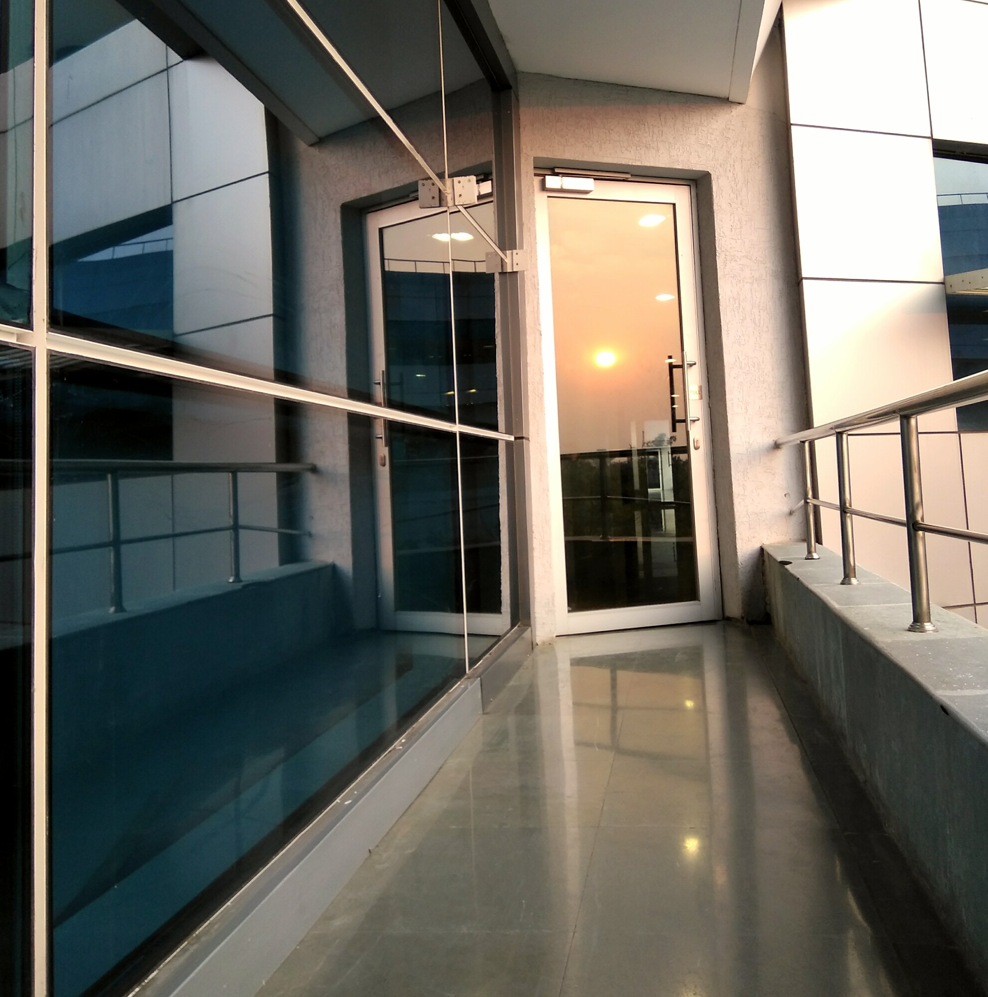 Our T spot in office look dramatically awesome on a warm evening