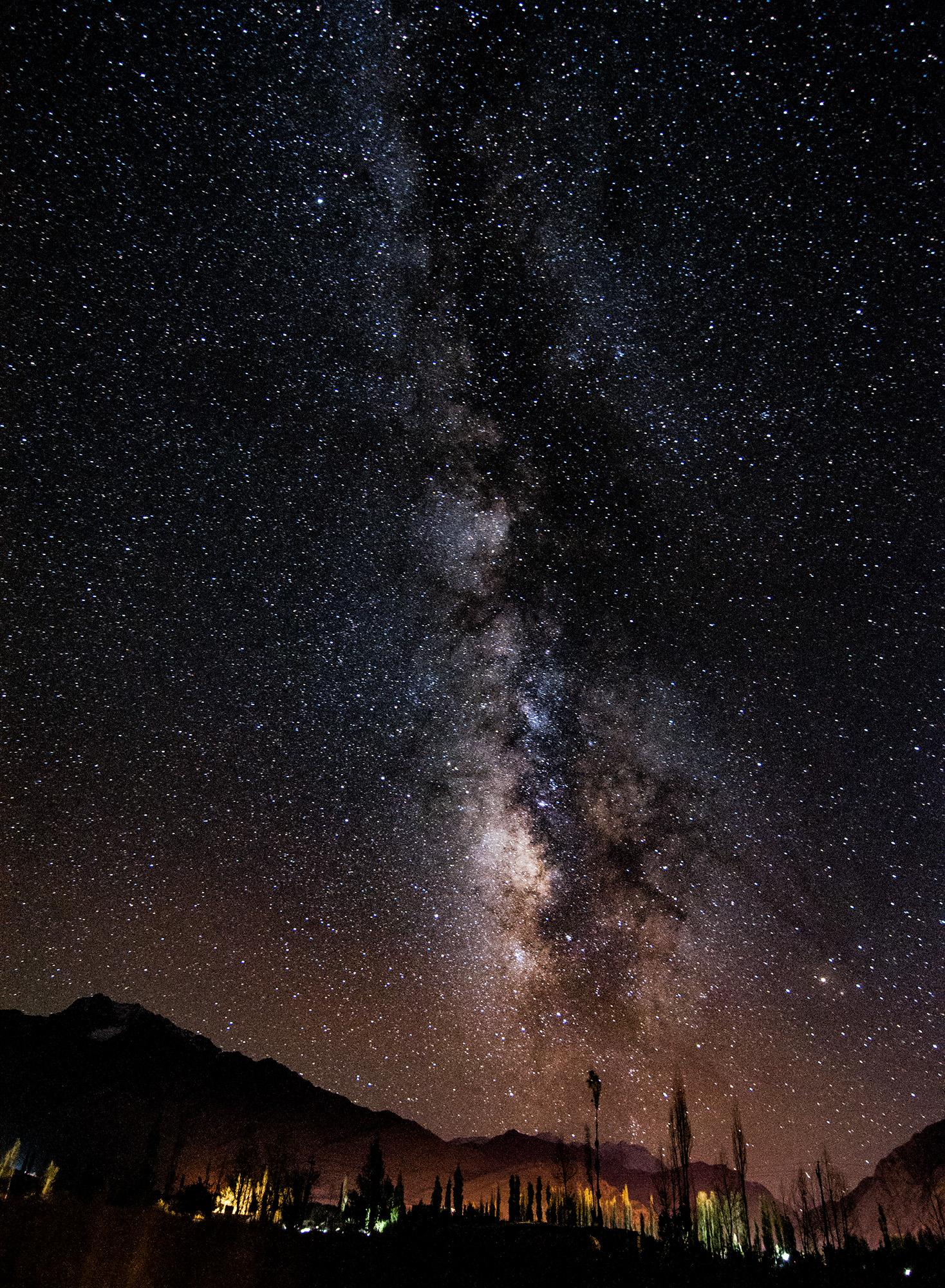 Milky Way shot at Kargil, Ladakh