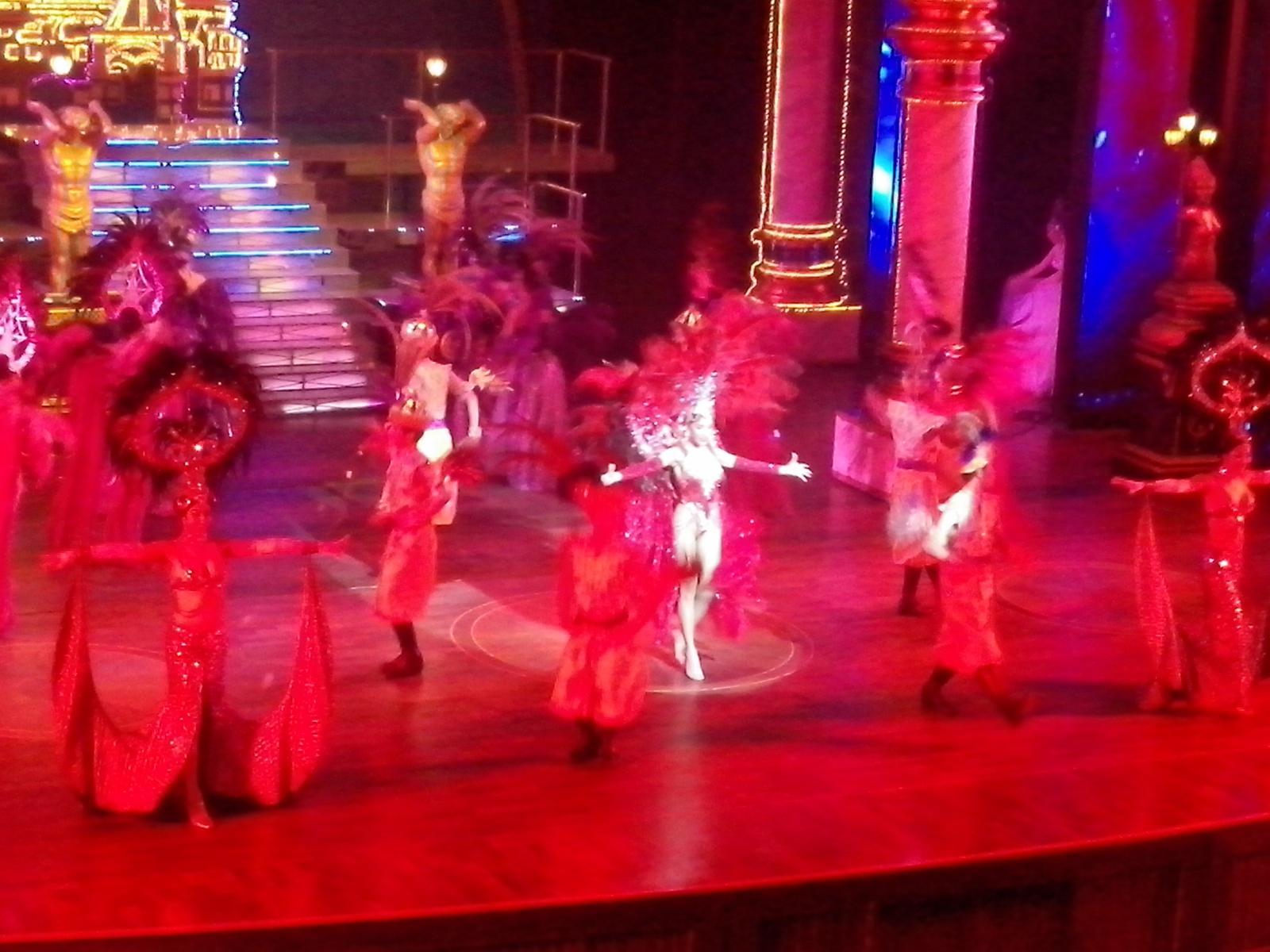 Alcazar show in Pattaya, Thailand.