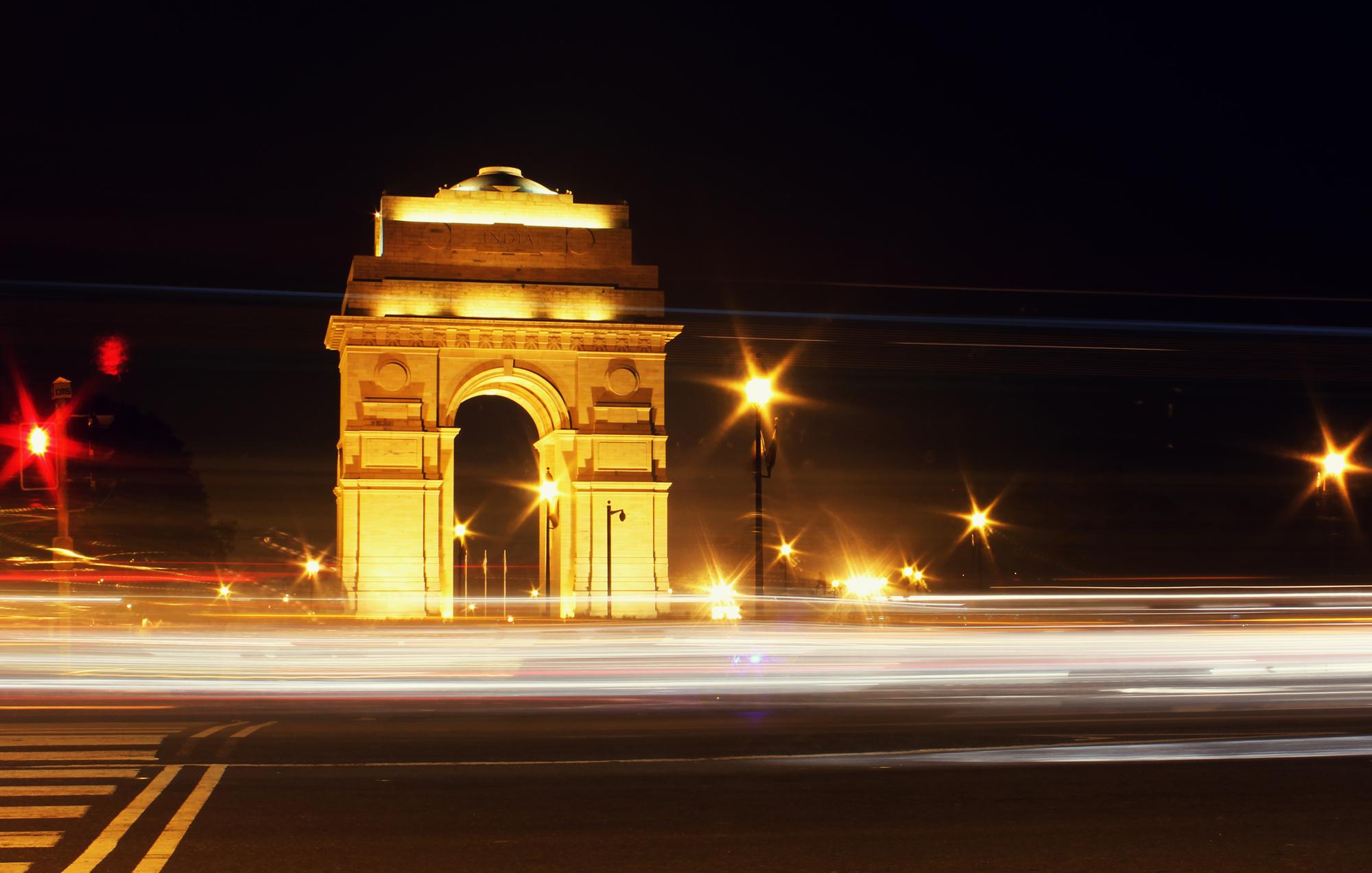 India Gate by Mahesh Bhanupanth.