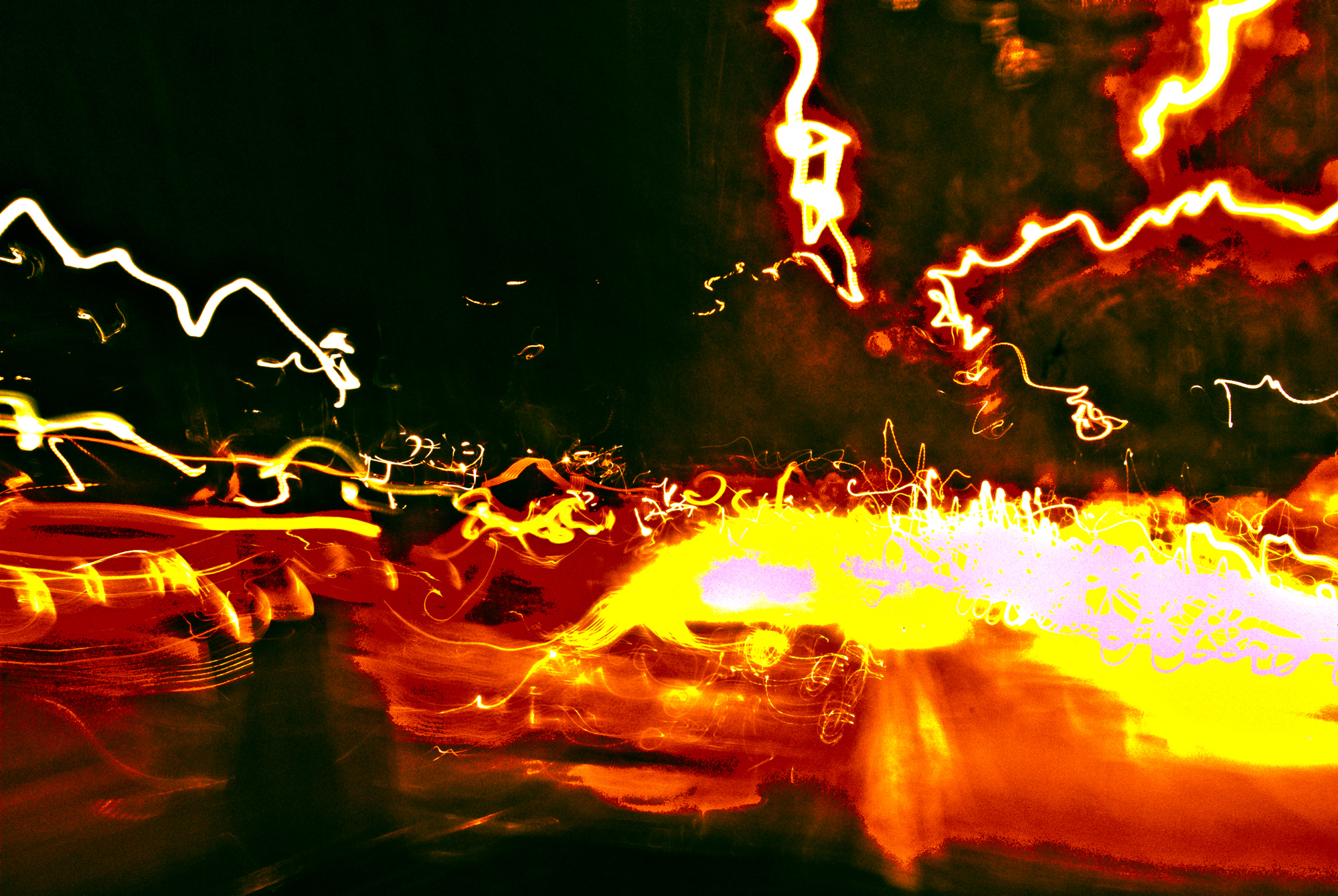 Delhi. Traffic. What else! Edited in Photoshop for contrast and color saturation.