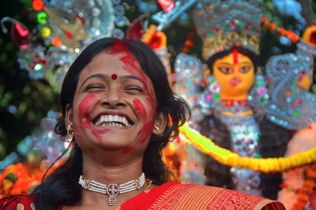 A photo from Durgapuja of the Bengalees