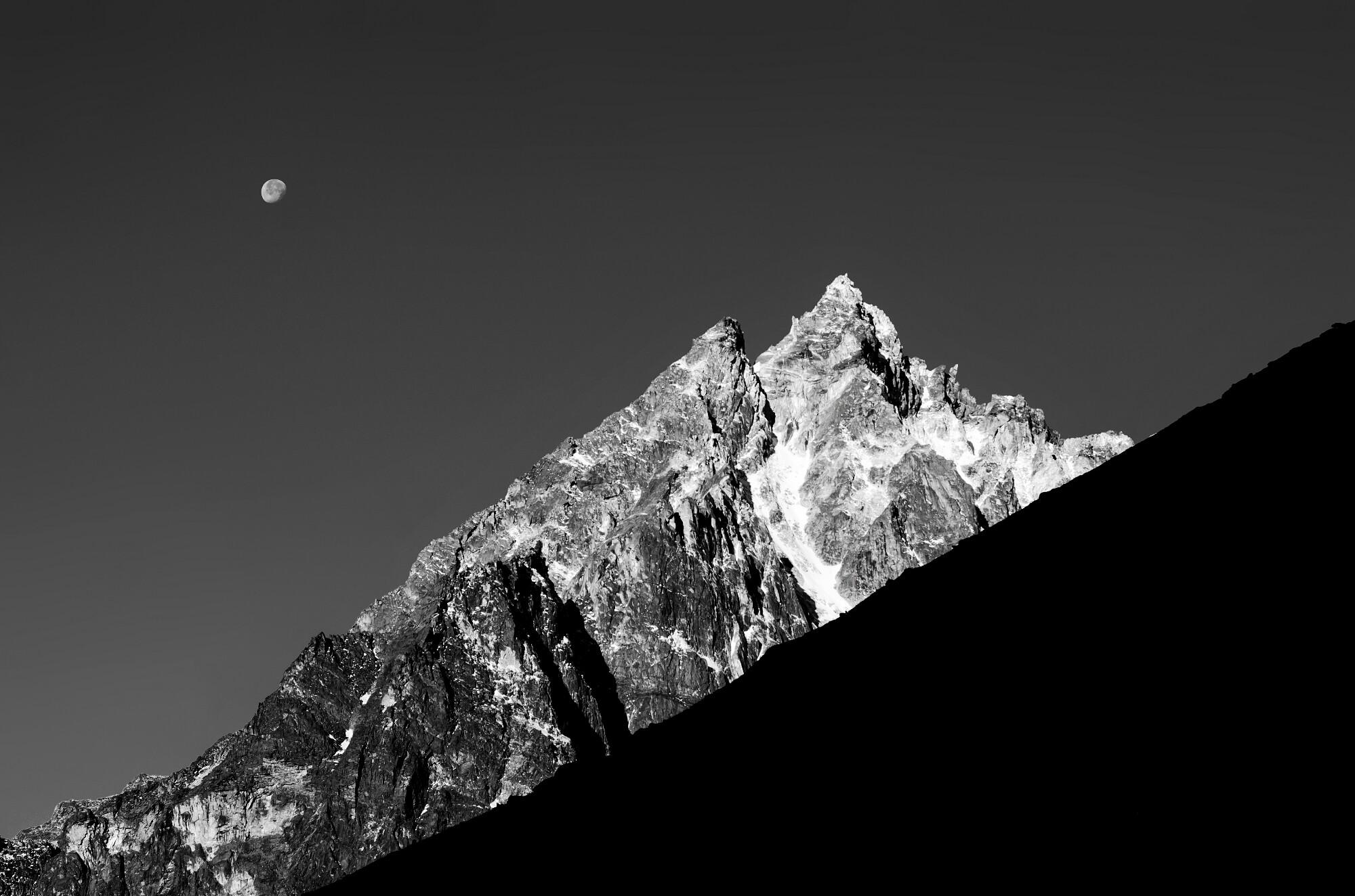 Frey's Peak in Kanchenjunga National Park, Sikkim
