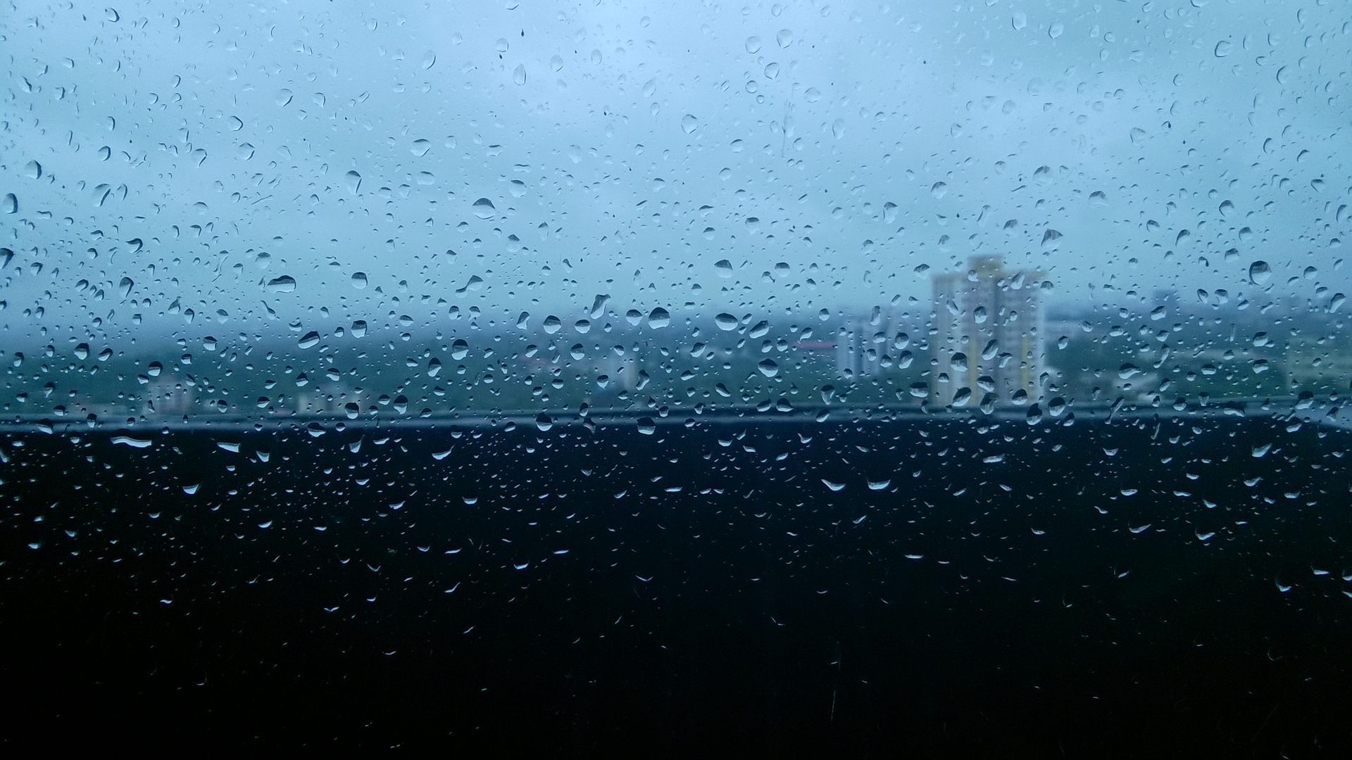 This photo taken from my office building