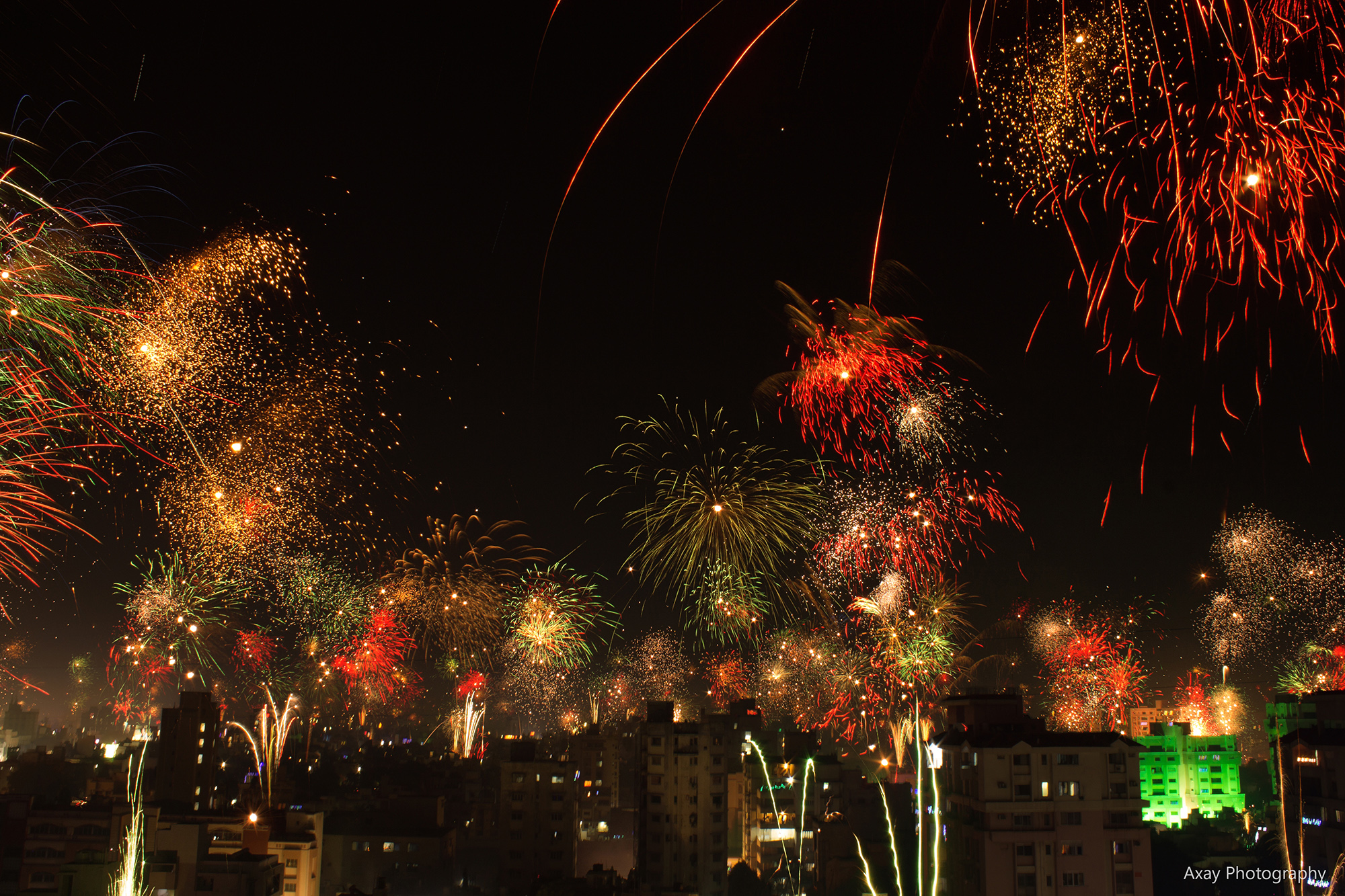 Diwali Celebration And Enjoying Festival Of Light!