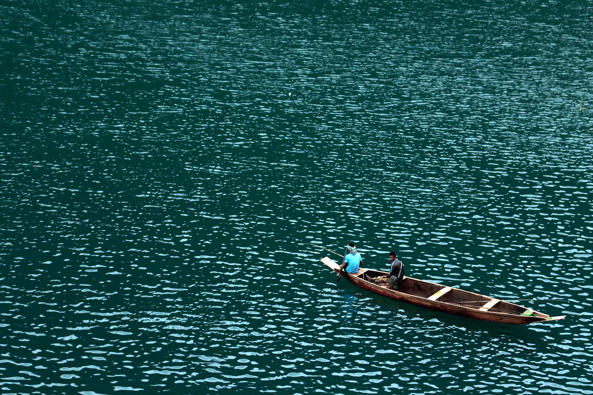 Fishing at dawki