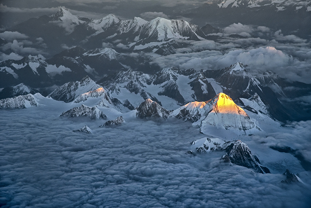 Sundrop on the Himalayan peak.