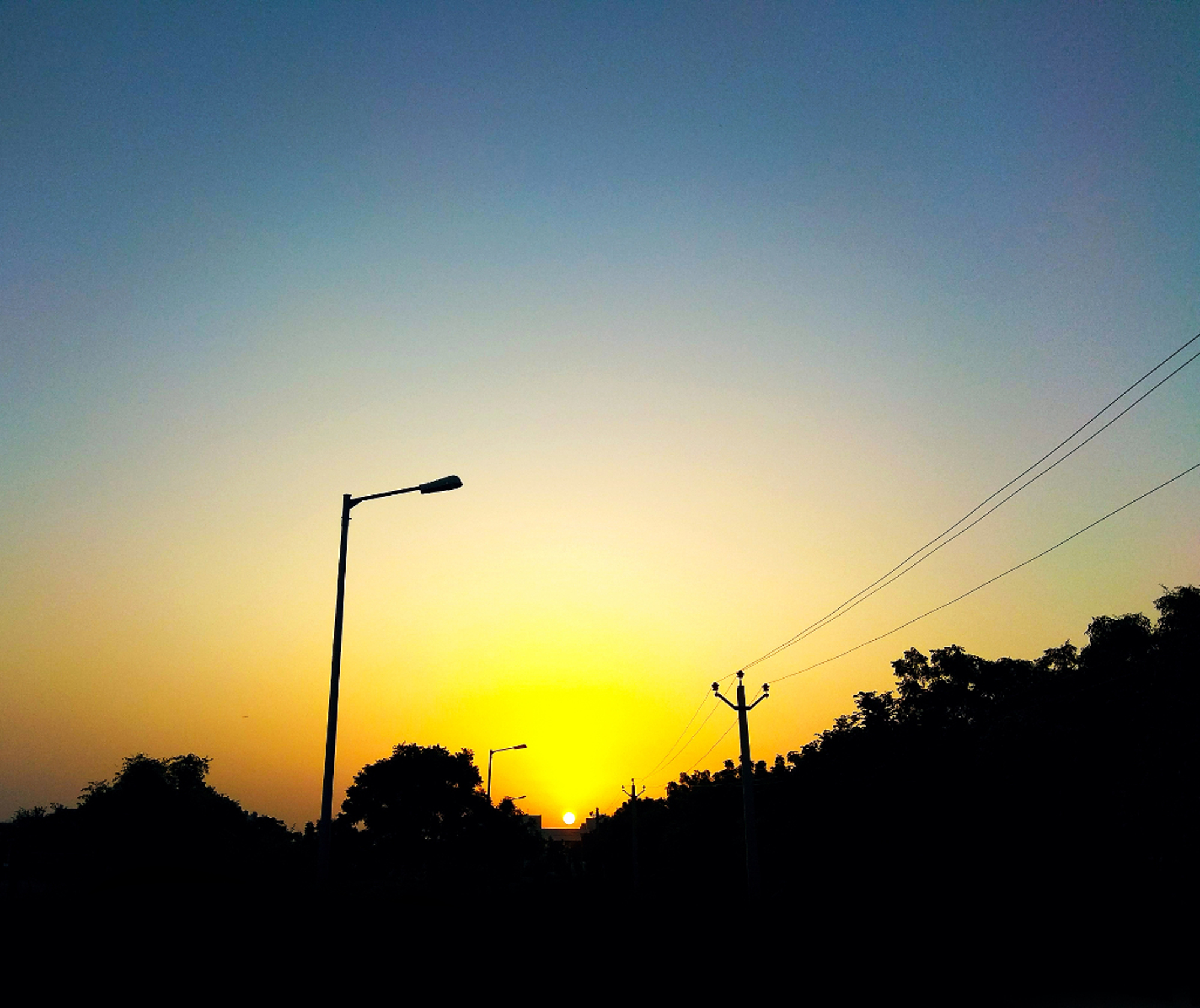 The photo contrasting effect between light and darkness. Rays of hope, the photograph is taken at Central University of Rajasthan campus.