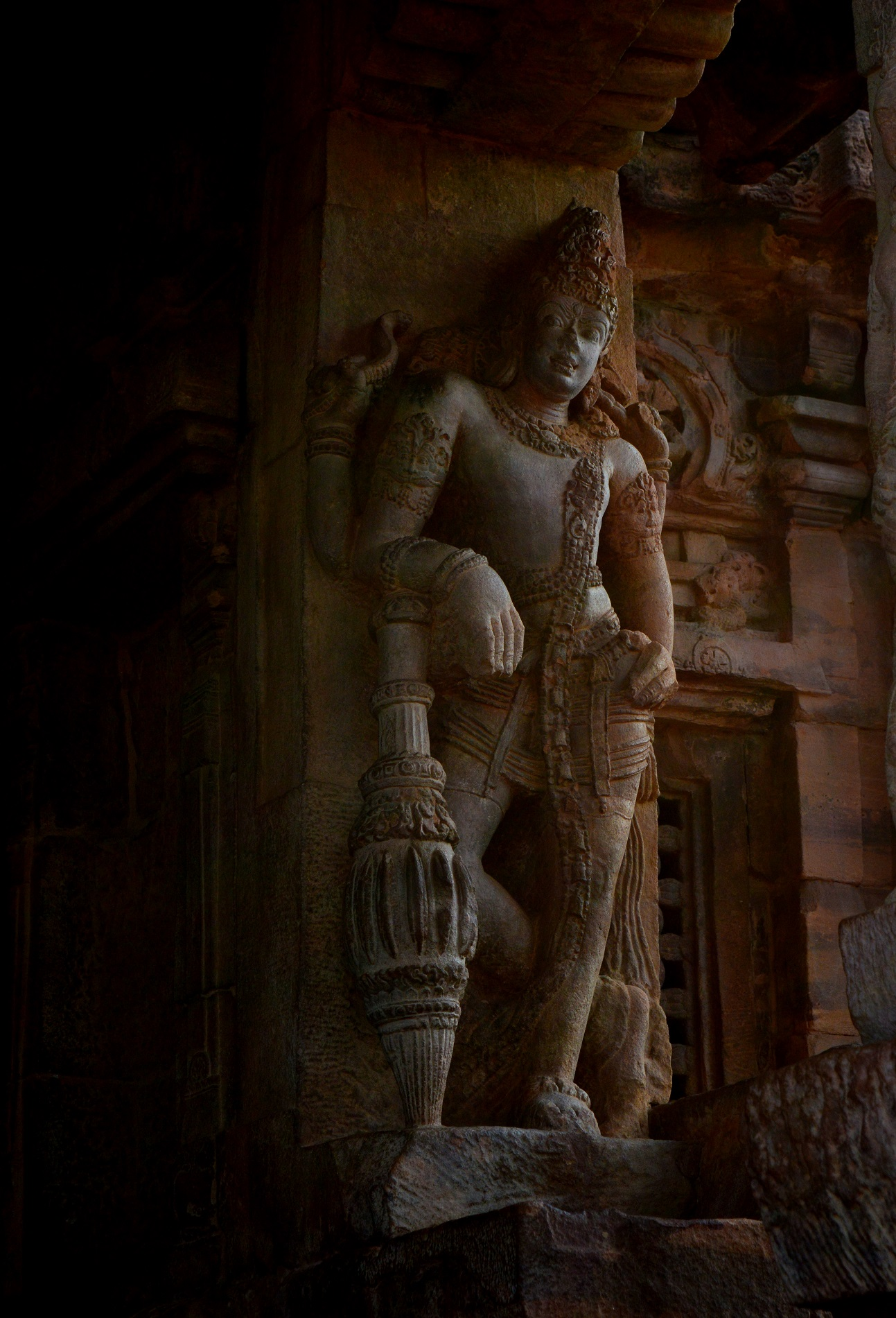 Vibrant Cave carvings and Rock arts of Badami Cave temples...