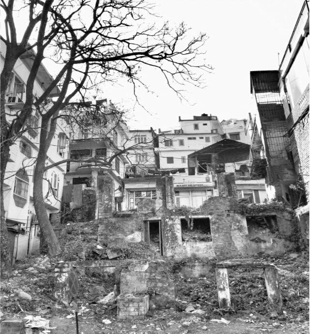urban demolishing house