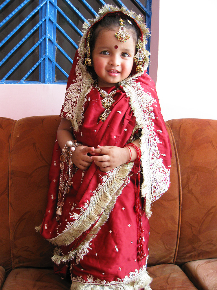 cute indian bride
