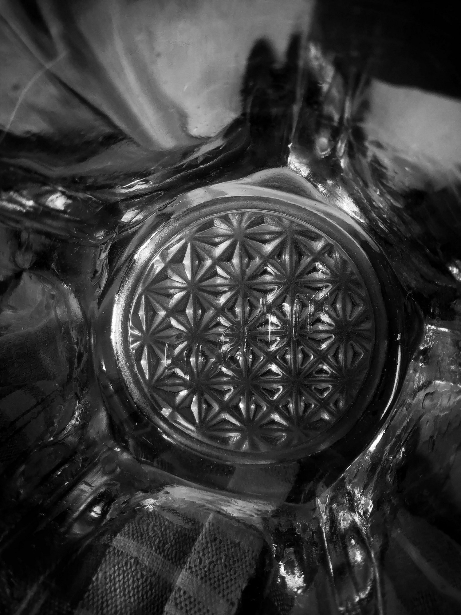 When you look at a piece of delicately spun glass you think of two things: how beautiful it is and how easily it can be broken.