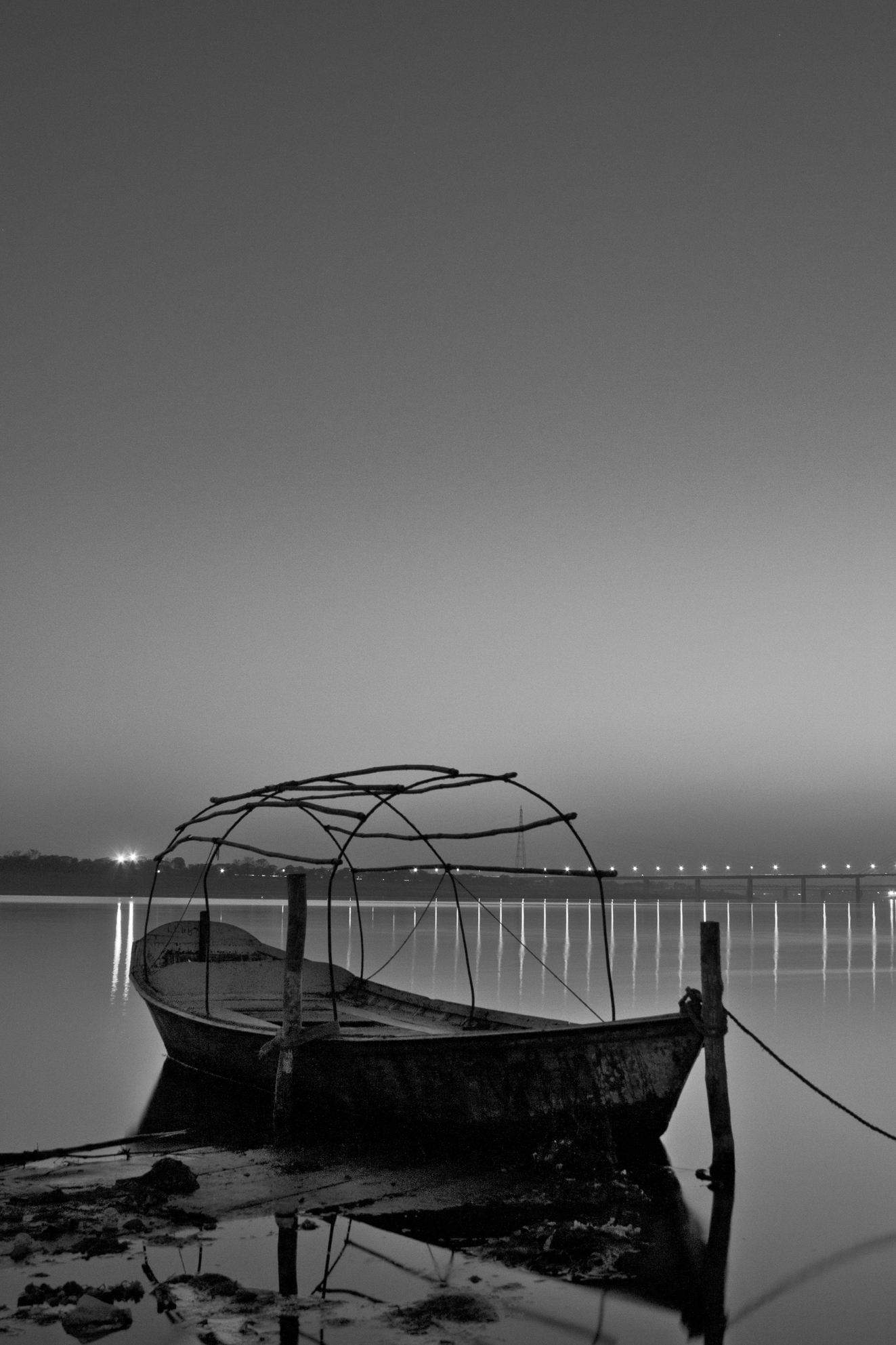 a boat float in wait for a better tomorrow