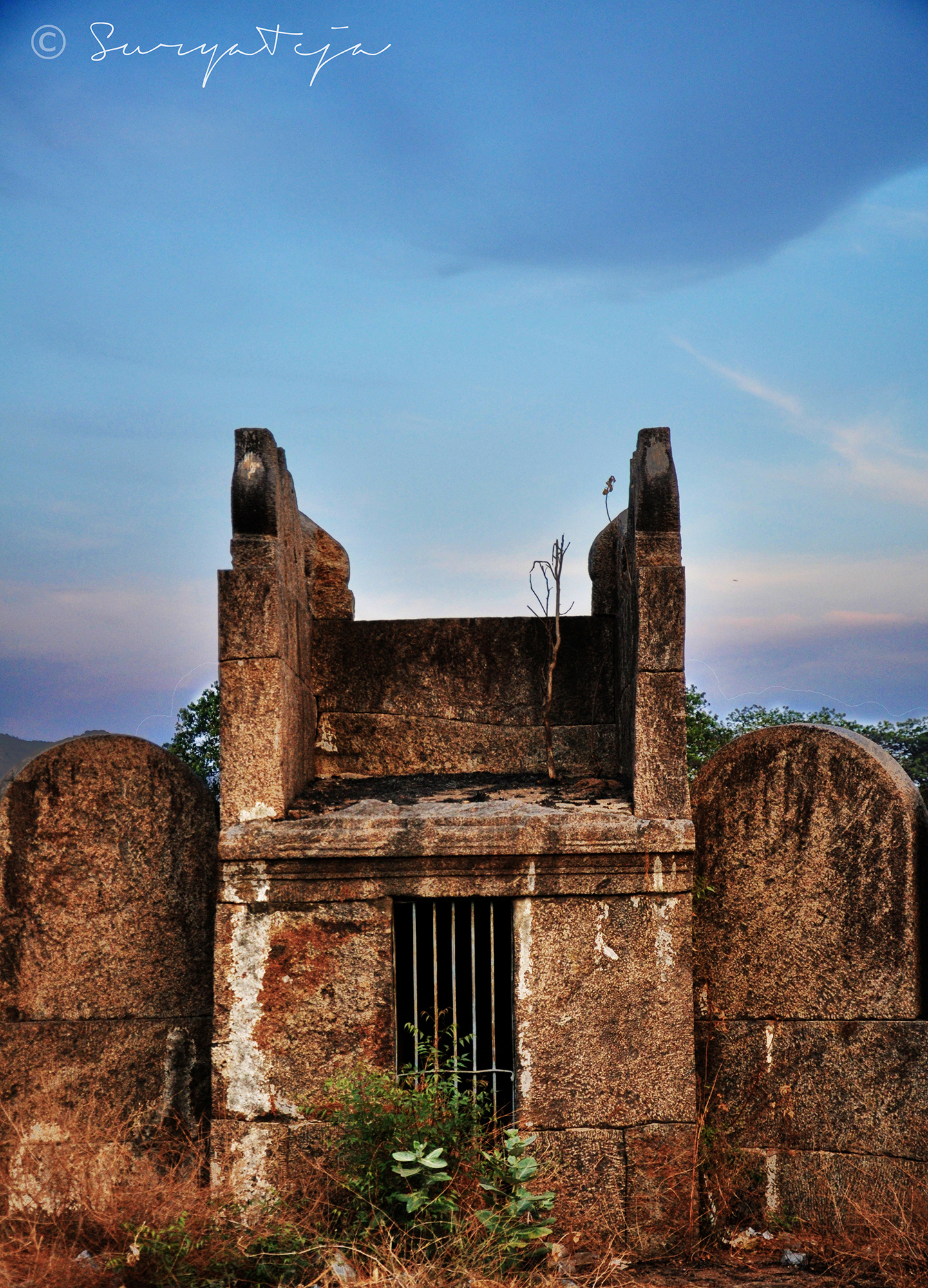 Men may come.., Men may go but I remain still.