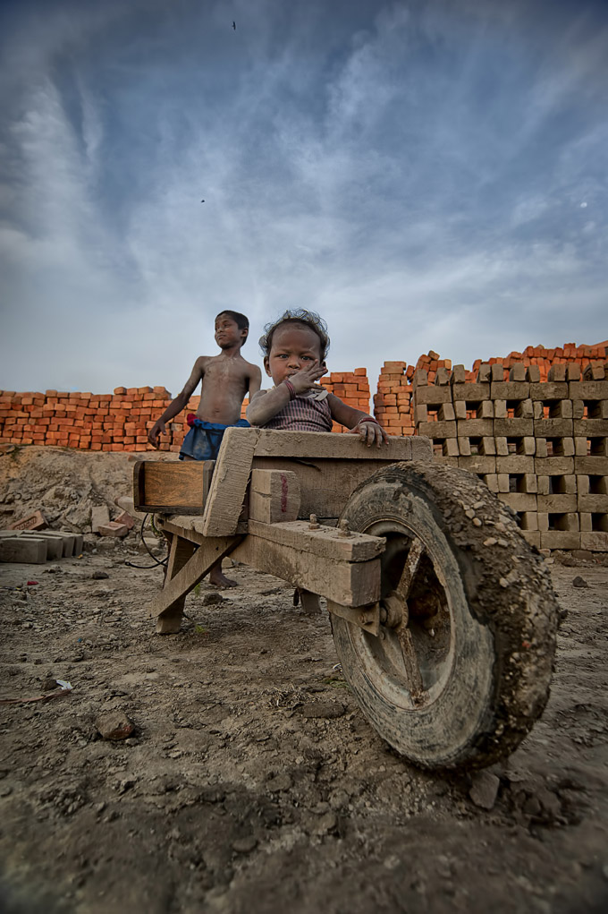 This image was shot in a Brick kiln near Kolkata.