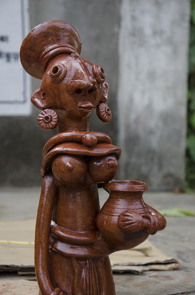 Traditional handicraft (TERRACOTTA) of DIst. - Bankura, West Bengal.