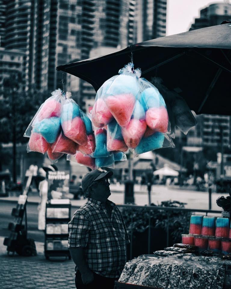 """Dreams taste like Cotton Candy """
