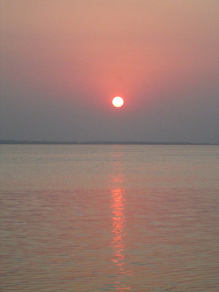 THIS BEAUTIFUL SUNSET IMAGE WAS CLICKED BY ME