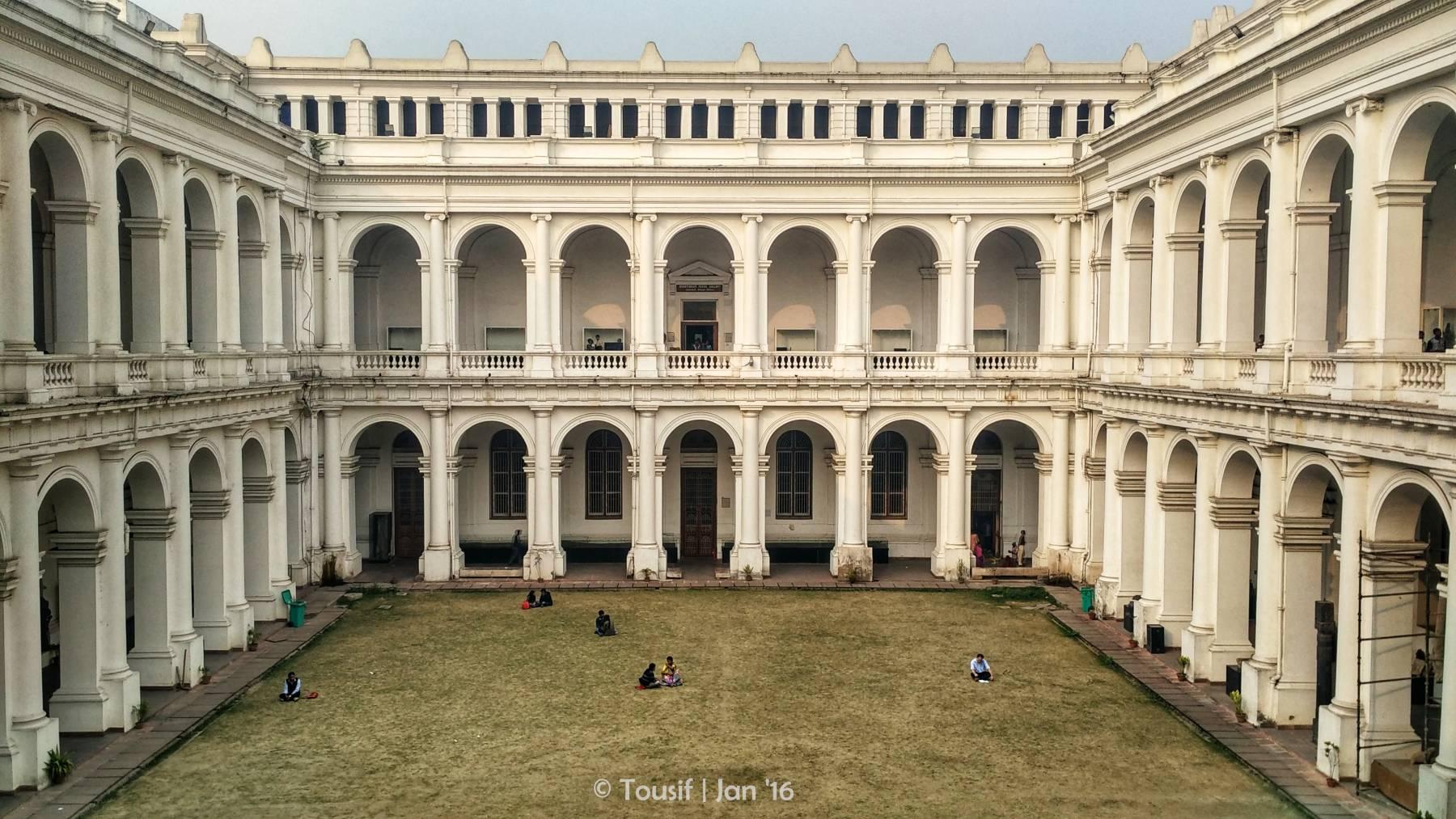 The aesthetic beauty of Indian Museum, Kolkata.