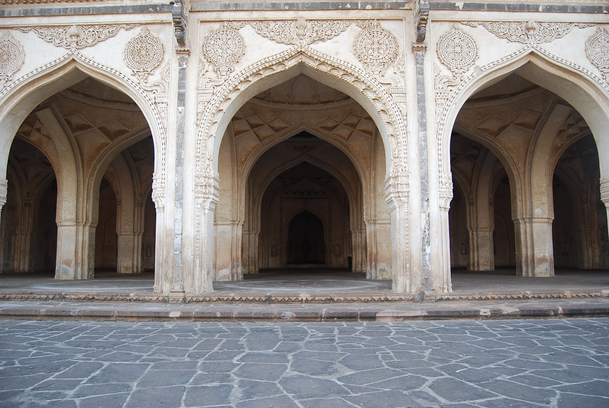 Mughal architecture is always spectacular. This photograph was shot at Hyderabad.