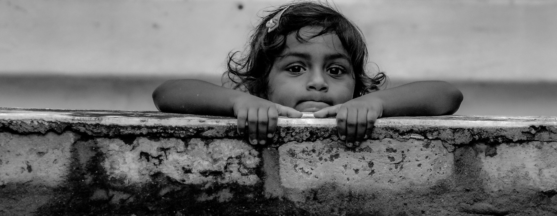 One must look into the eyes of a child as his/her eyes can tell you much more than you expect.