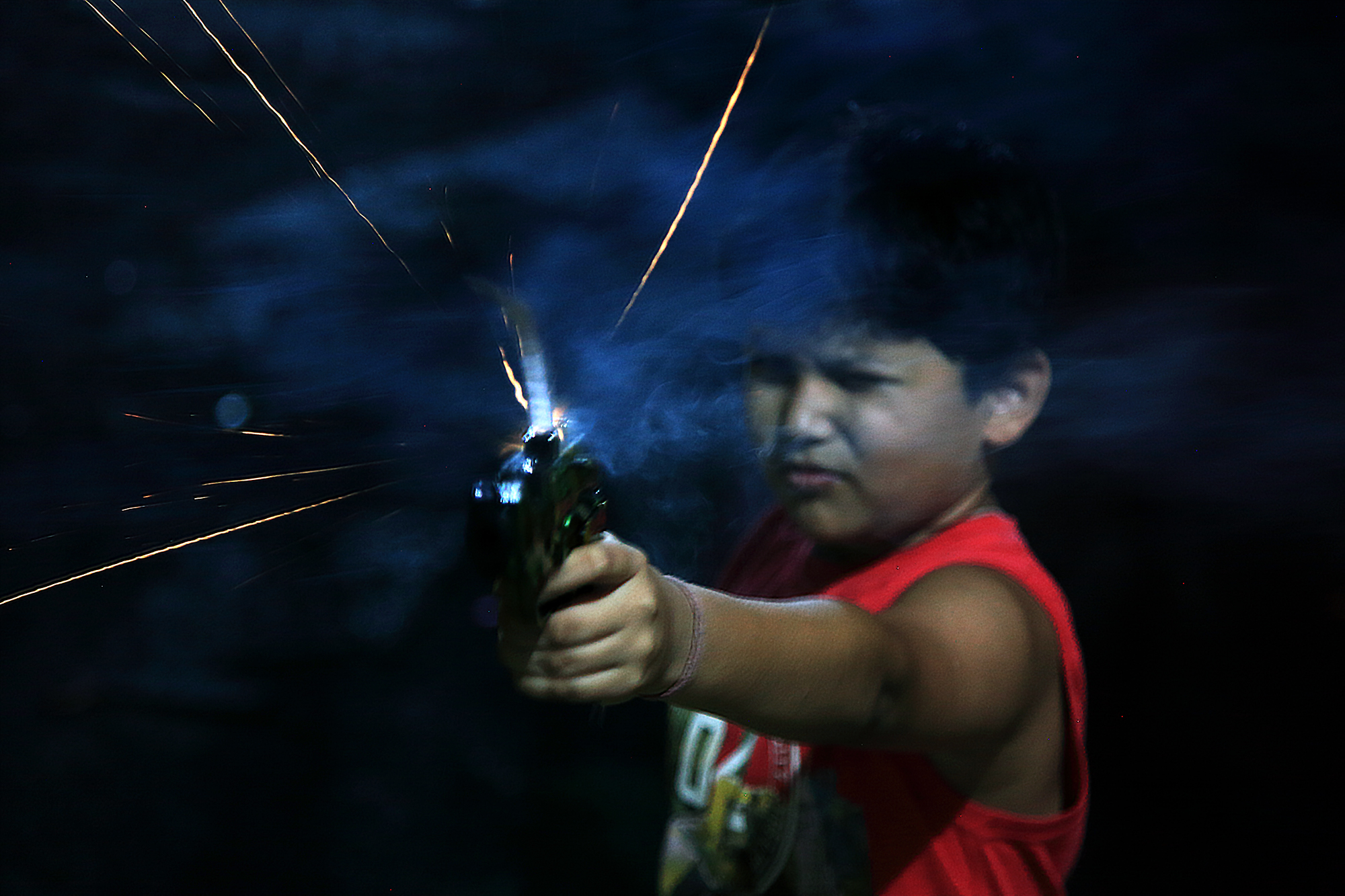 Most famous in Kids is Diwali Gun. They imitate Bollywood stars with Diwali Gun.