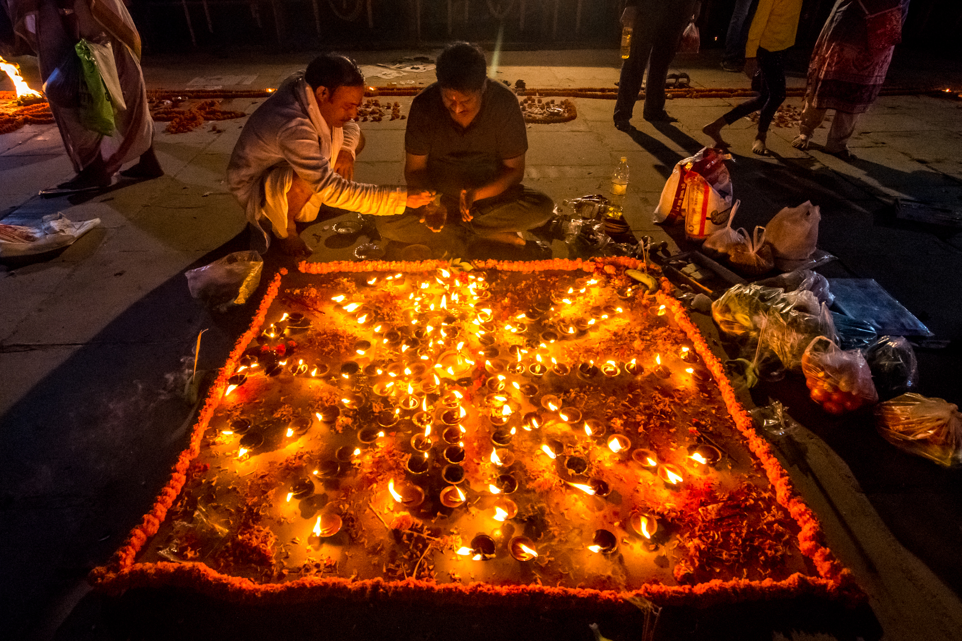 The Dev Deepavali is the festival of lights as per Hindu mythology where the Gods transcend to the Holy city of Varanasi to celebrate the festival of light in the Ghats of Holy Ganges.