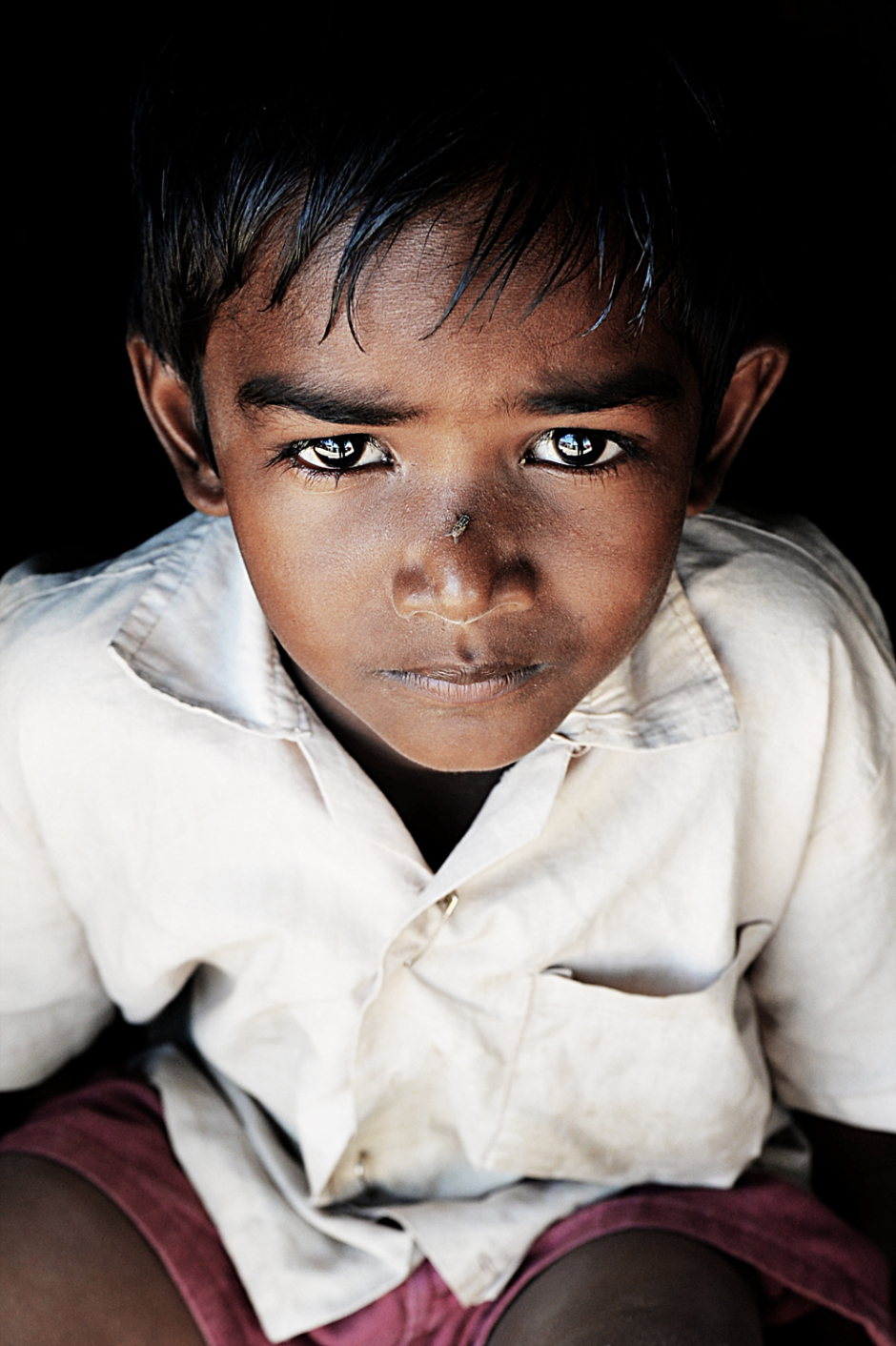 Photographed this little boy near to my house , Chennai,India