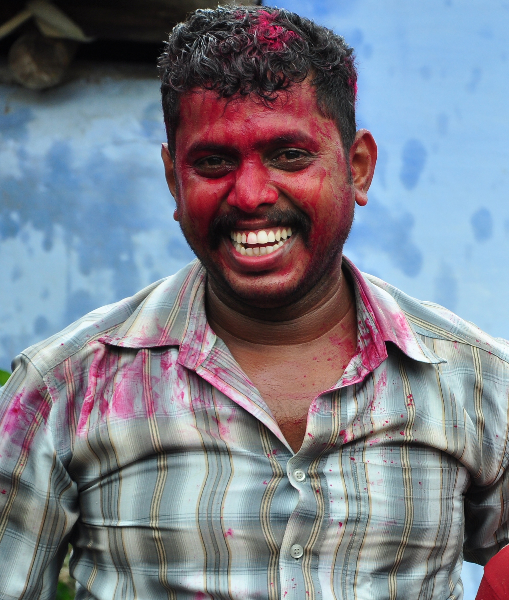 this was taken at the time of holi