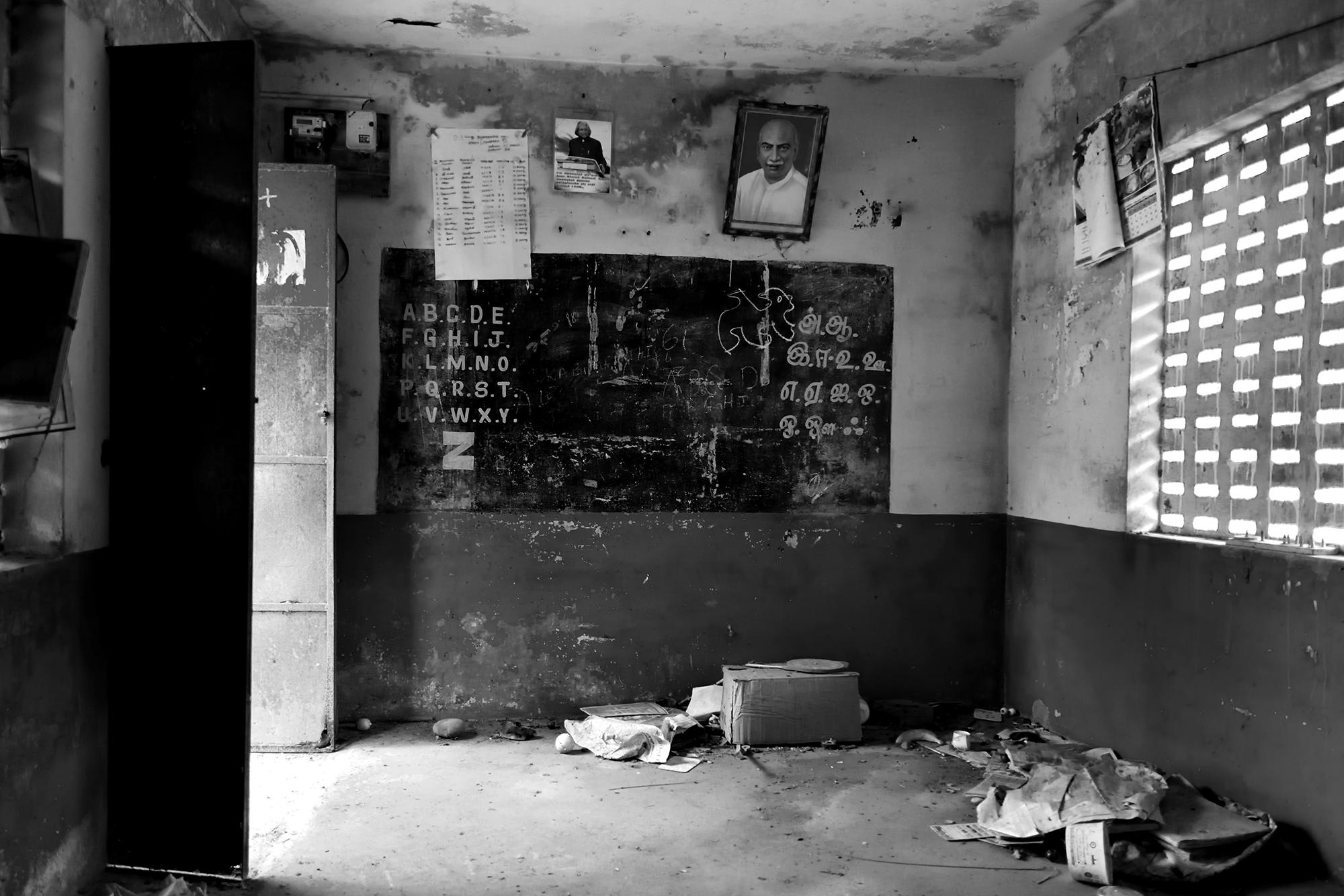An abandoned aanganwadi in Chennai.