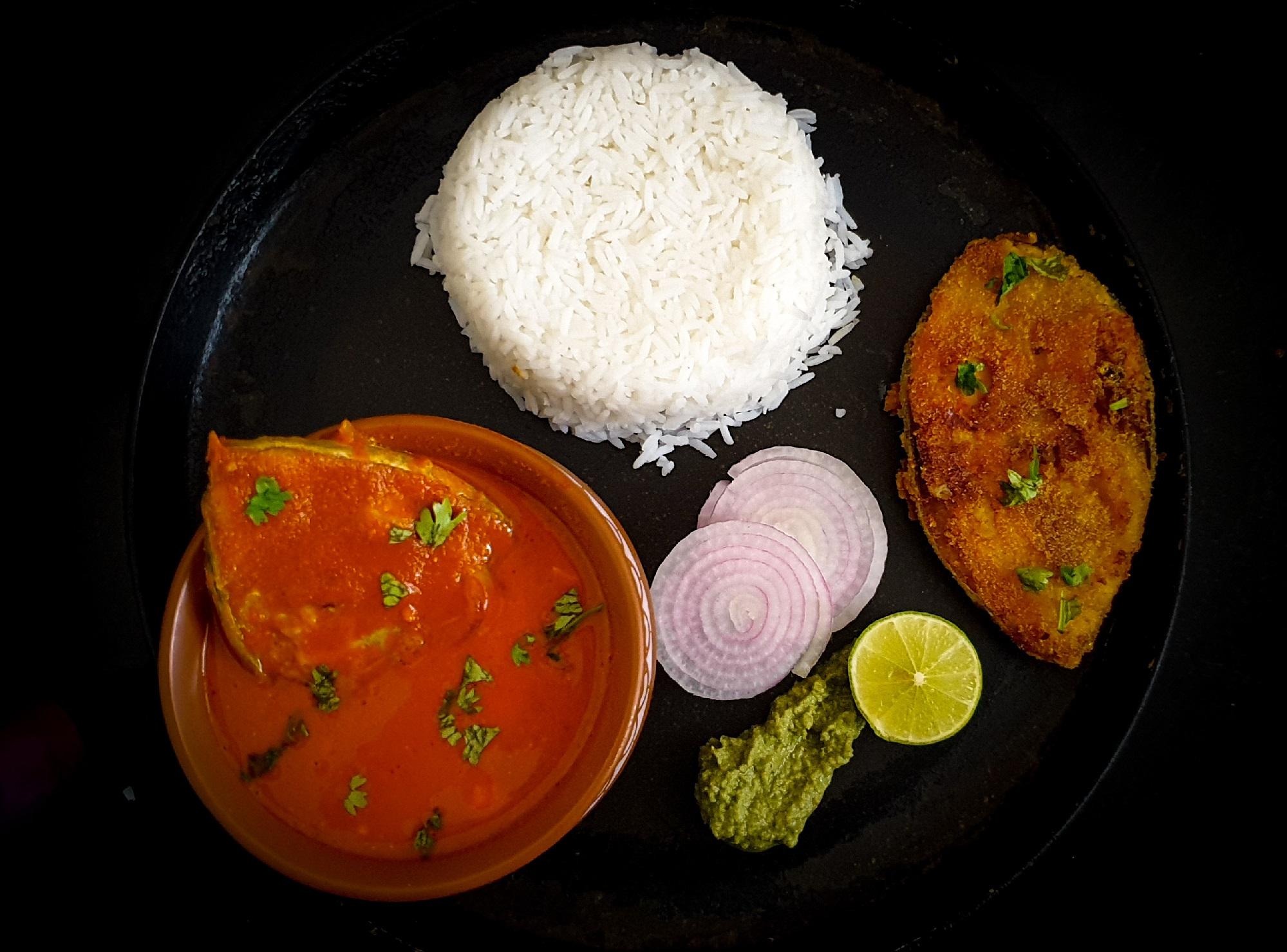 Surmai Fish Thali