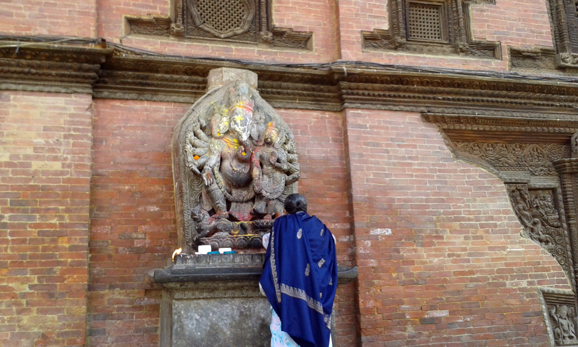 Photo was taken in Patan Darbar in Kathmandu, Nepal