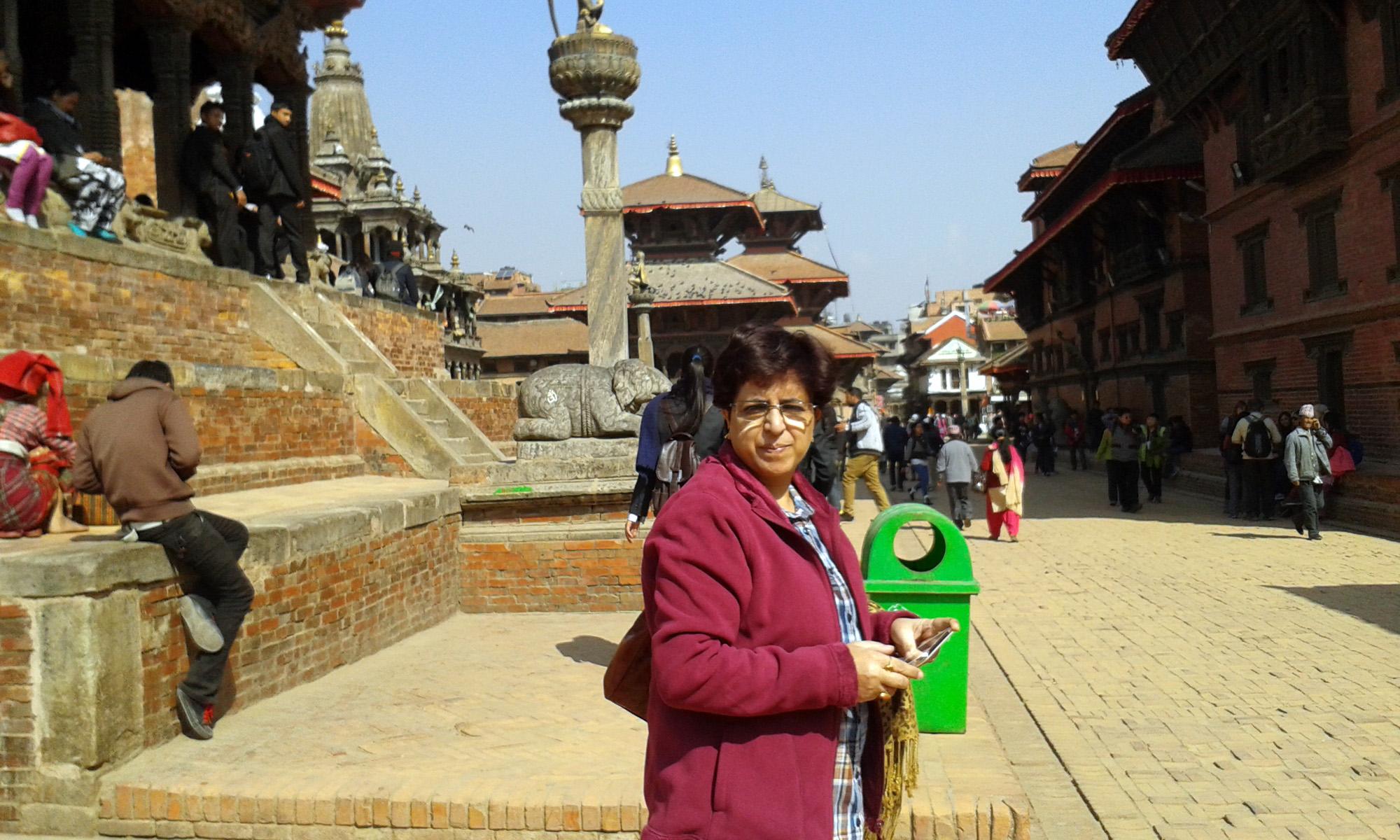 Photo was taken at patan Darbar in kathmandu, nepal in Feb 2015