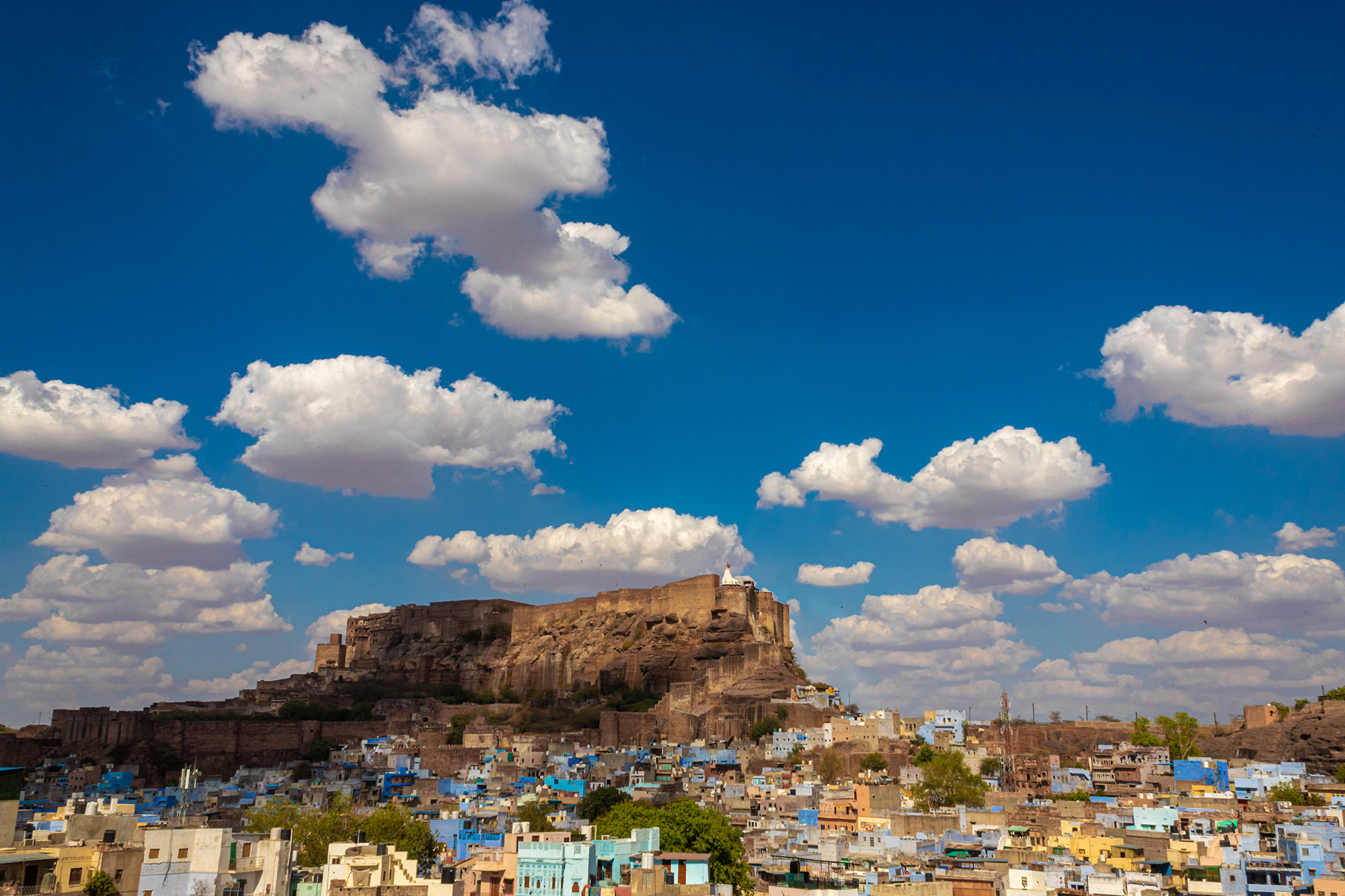 I took this photo from my terrace. On that day I saw clouds are looking very magical which I didn't see before.