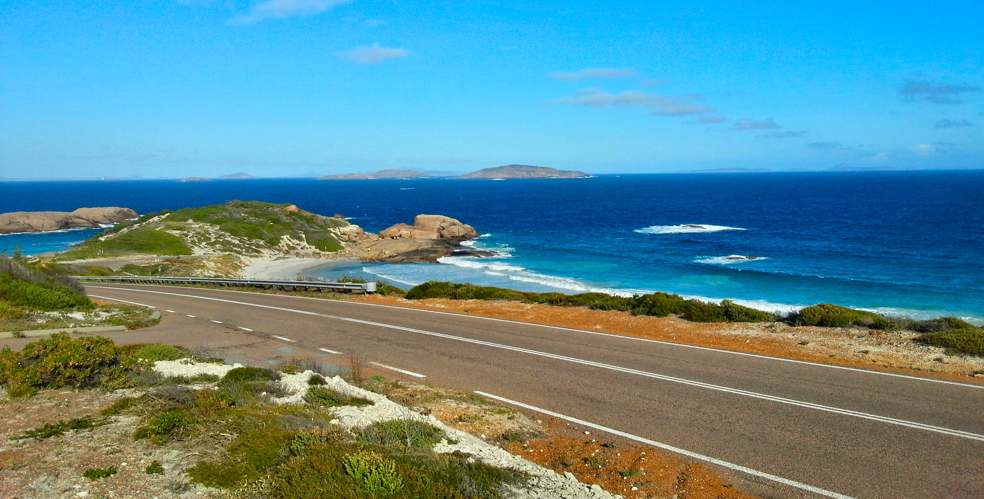 The Great Ocean Road in Esperance, Western Australia.
