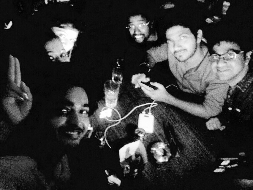 This particular picture is with my closest friends who are more than my family. We call ourself iFamily being iPhone lovers
