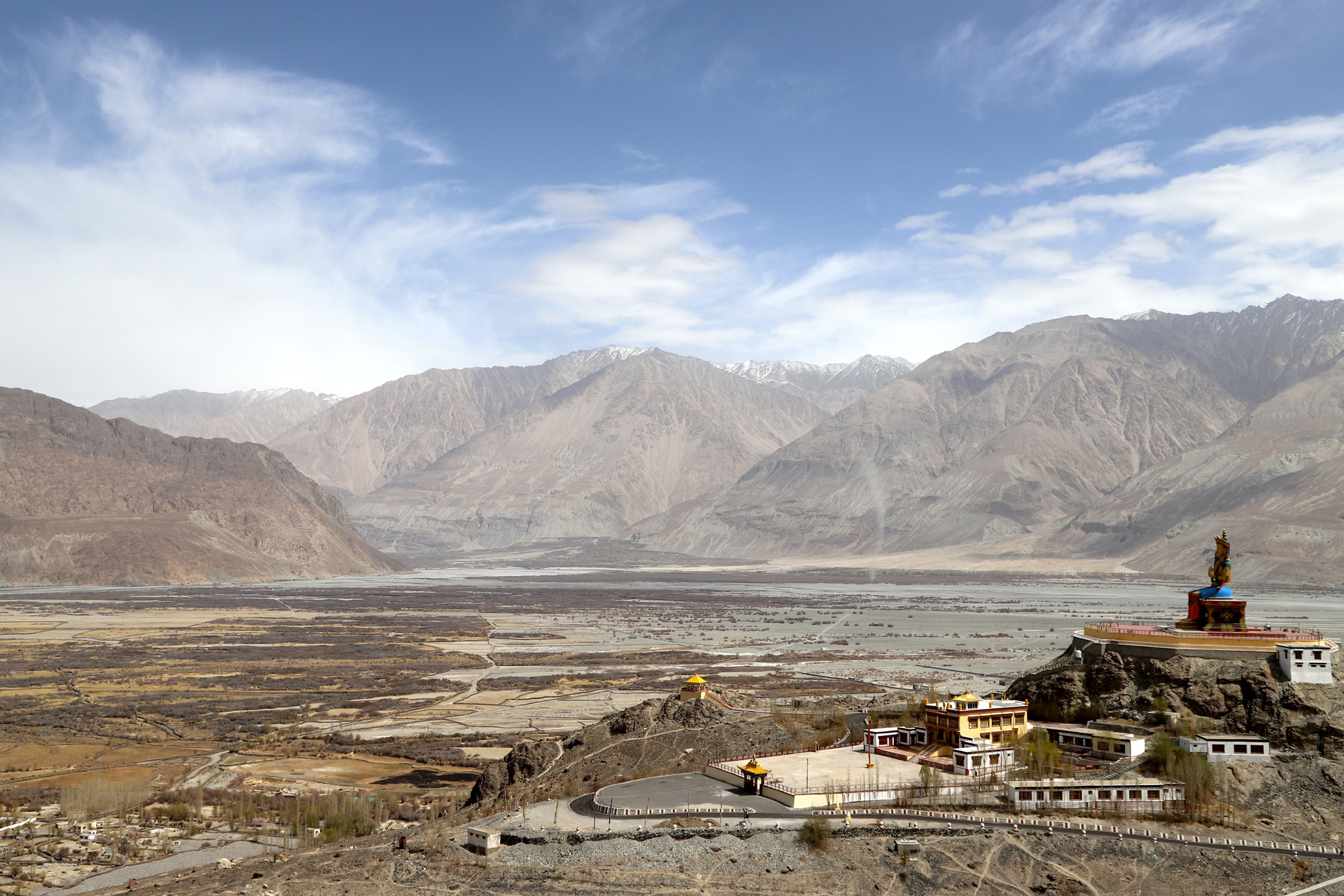 Leh-Ladakh , the land of Monastery