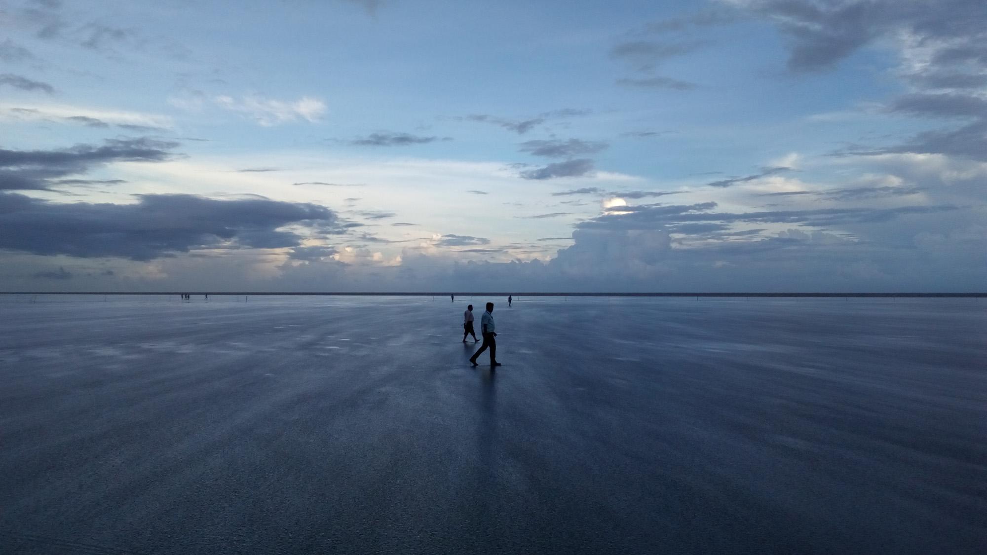 Hide and seek beach at Chandipur