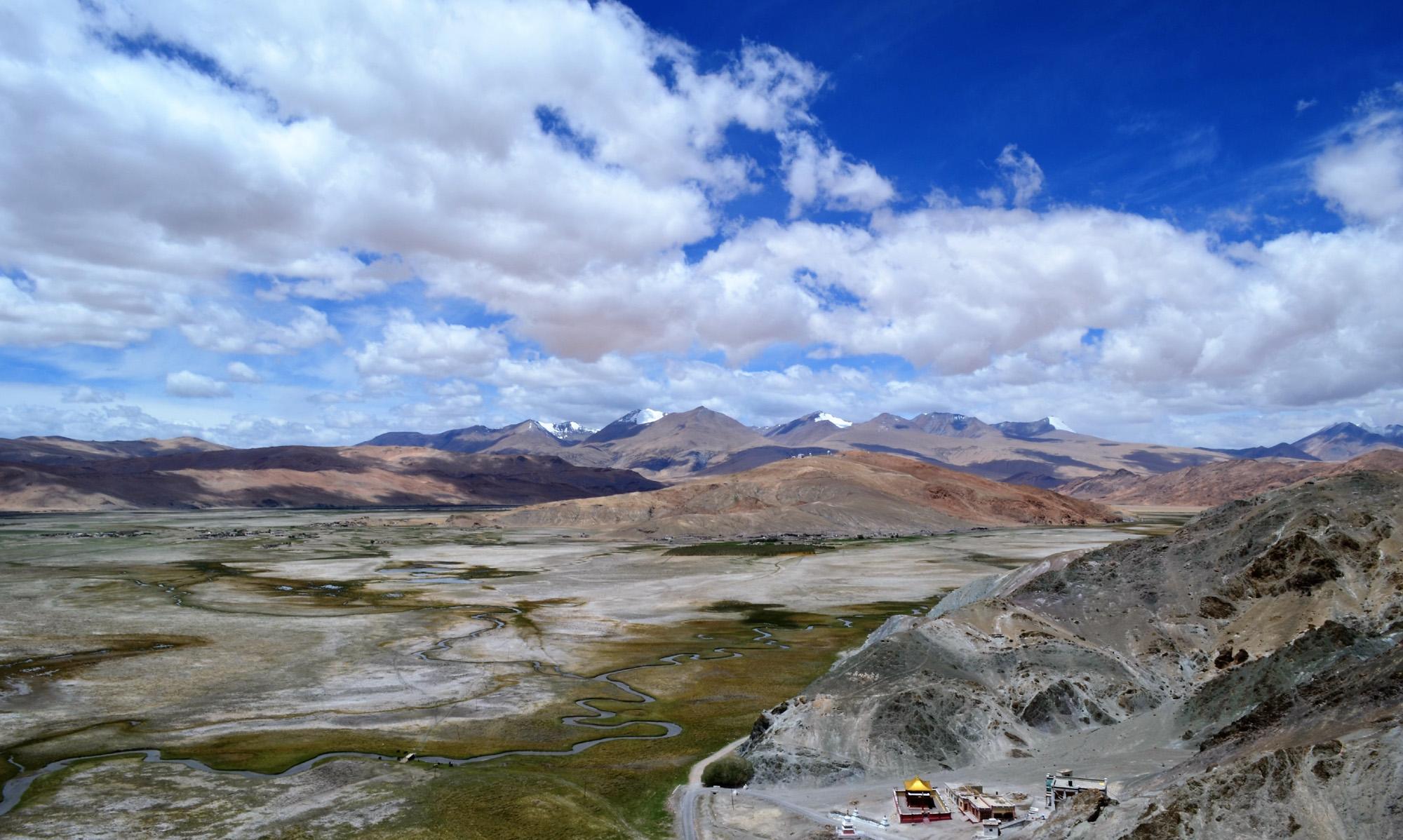 Leh-Ladakh, the land of monastery.