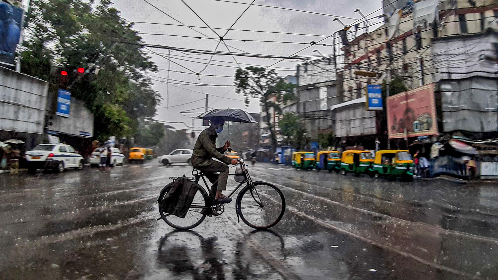 Monsoon in Kolkata is absolutely magic.