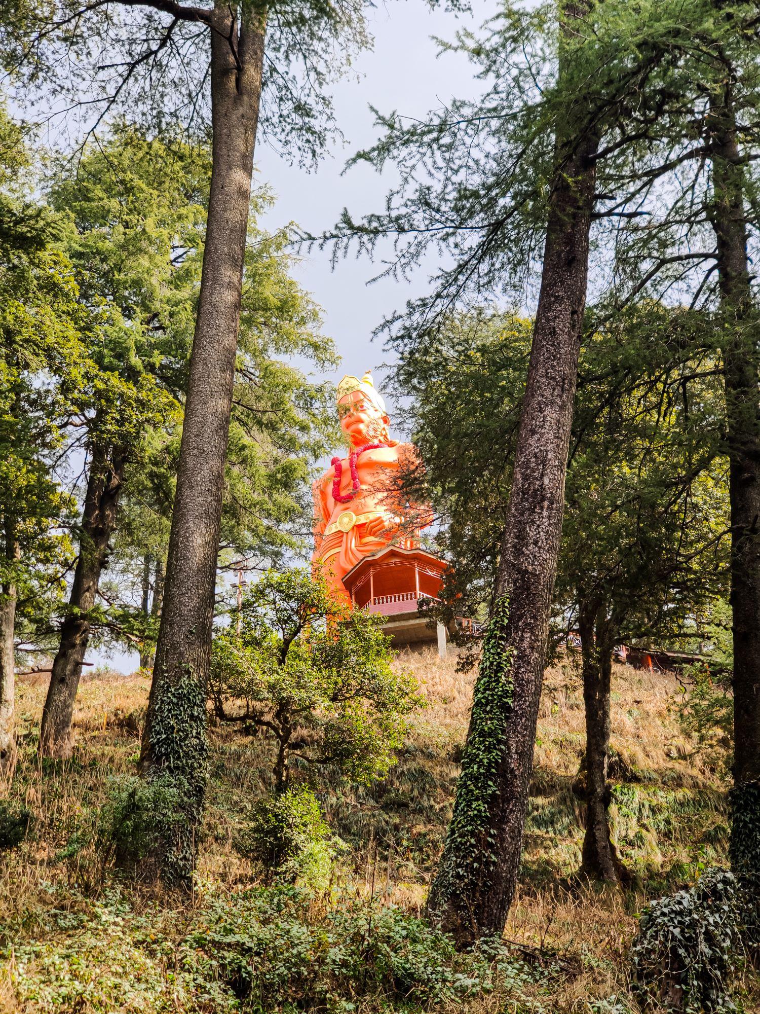Tallest statue of Hanumanji on the periphery of Jakhu village and pride of Shimla