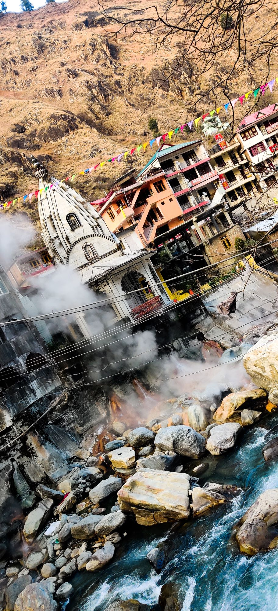 The pious place of shiv lord on the bank of river Ganga