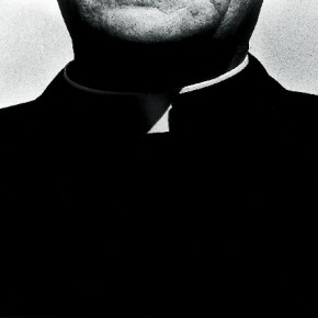 "If Ralph has to be remembered by a single image, it would be by this photograph titled 'Priest Collar'. In his words, ""this image has a certain reality... a social and an abstract component... and could almost be in color"". Photograph/Ralph Gibson"