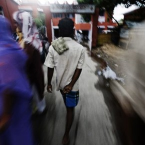 Sunil makes rounds of all medical centres in the area in search of B-Negative blood. The wait was agonising. Photograph/Dhiraj Singh