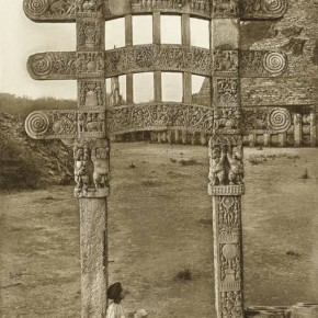 Back of Gateway of Lake, Srinagar, c.1910s Stupa 3 (Looking North), Sanchi c.1900, in J H Marshall and A Foucher, The Monuments of Sanchi (1940)