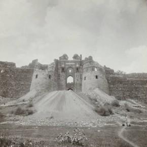 Entrance to Purana Qila before Restoration, Delhi, c.1914. Photograph/ John Marshall Albums