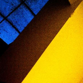 When including more than one colour, I was conscious of including only colours that go well together, like this blue-yellow combination of a ceiling.Photograph/Raj Lawani
