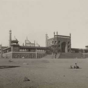 View of Jama Masjid, Delhi, c.1902–05. Photograph/John Marshall Albums