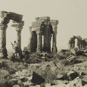 Surya Temple, Martand, c.1900–10. Photograph/John Marshall Adams.